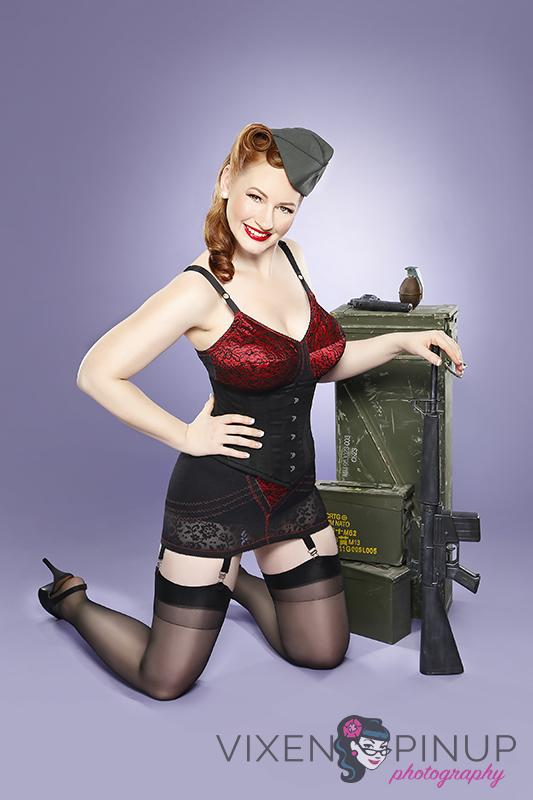 Rago Lingerie Military Pinup Girl