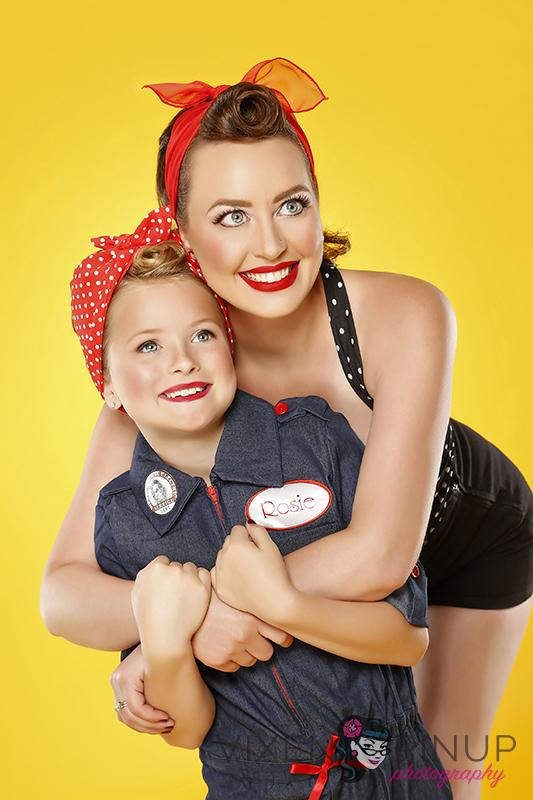 Mommy Rosie The Riveter Pinup
